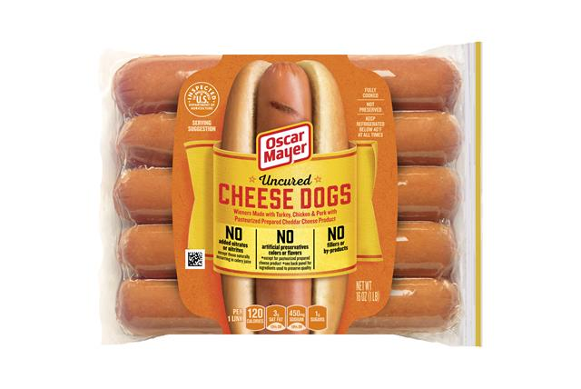 Oscar Mayer Cheese Dogs 10 Ct Pack
