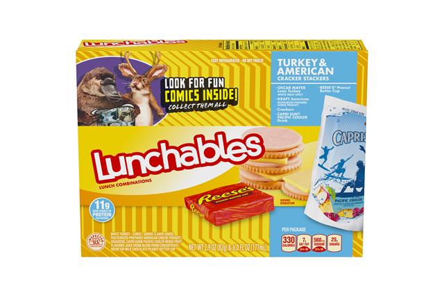 Lunchables Convenience Meals Turkey And American With Capri Sun 8.9 Oz Box