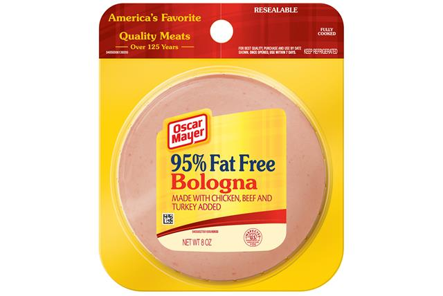 Oscar Mayer Fat Free Bologna 8Oz Pack