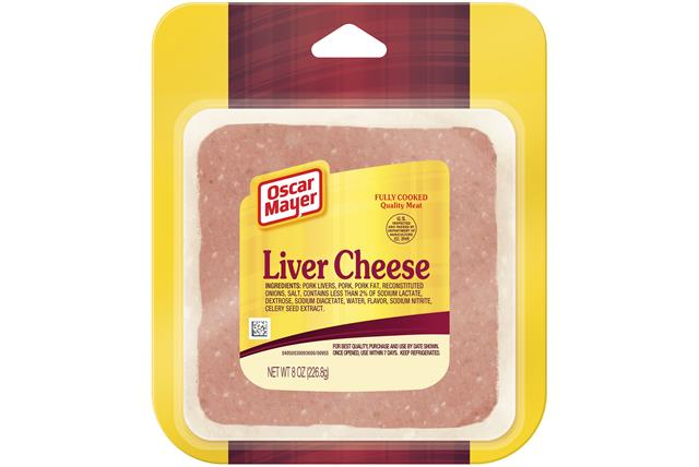 Oscar Mayer Liver Cheese 8Oz