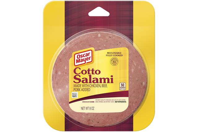 Oscar Mayer Cotto Salami 8Oz