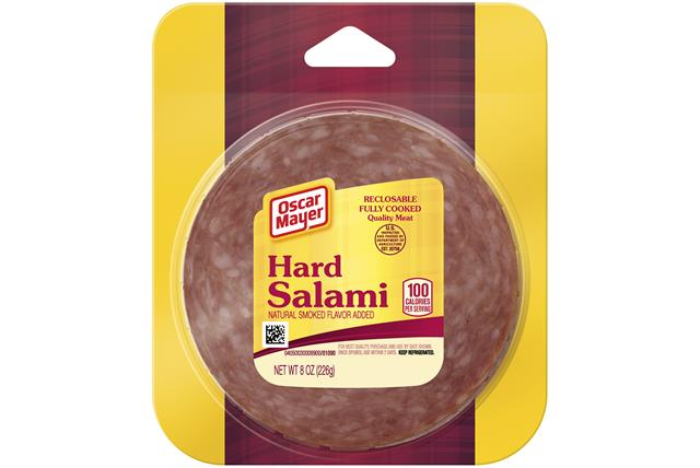 Oscar Mayer Hard Salami 8Oz