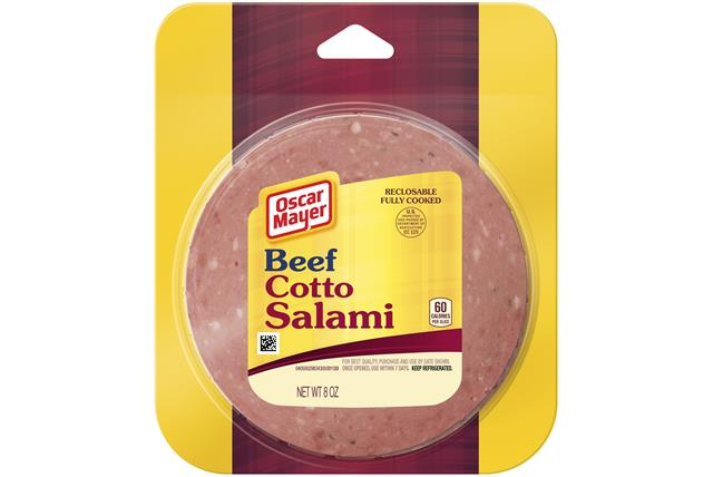 Oscar Mayer Beef Cotto Salami 8Oz