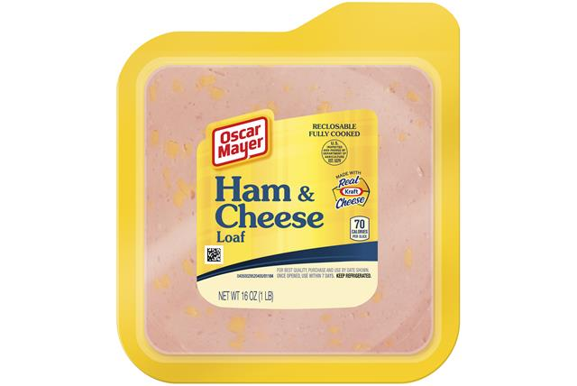 Oscar Mayer Ham And Cheese Loaf
