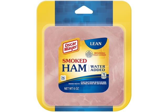 Oscar Mayer Lean Smoked Ham 6Oz