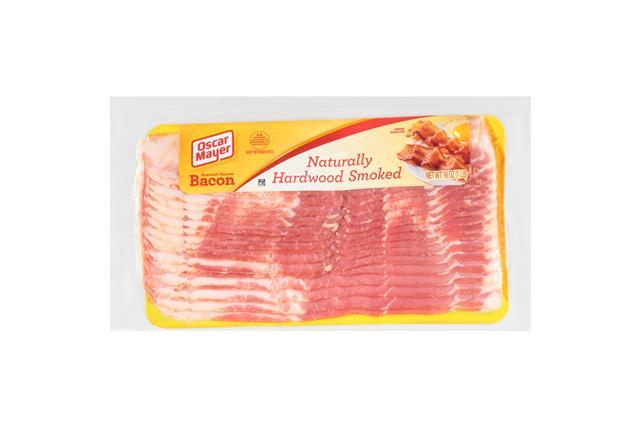 Oscar Mayer Naturally Hardwood Smoked Bacon 16Oz Pack