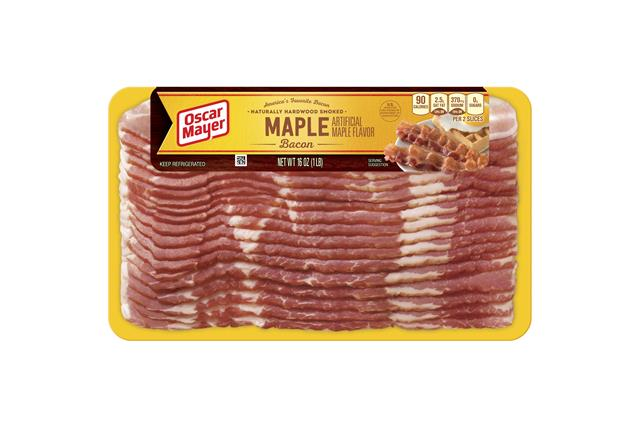 Oscar Mayer Maple Bacon 16oz Pa 1563 on oscar mayer selects turkey nutrition