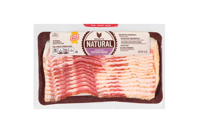 Oscar Mayer Natural Uncured Bac 2011 on oscar mayer selects nutrition
