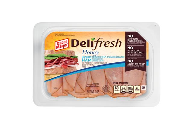Oscar Mayer Deli Fresh Shaved Honey Ham 9Oz