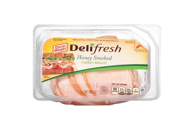 Oscar Mayer Deli Fresh Honey Smoked Turkey 9Oz