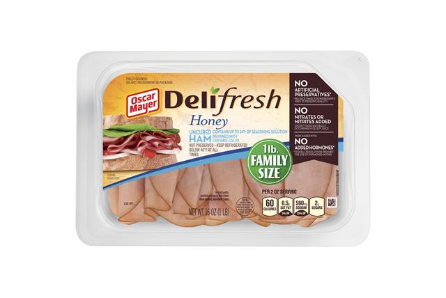 Oscar Mayer Deli Fresh Honey Ham 16Oz