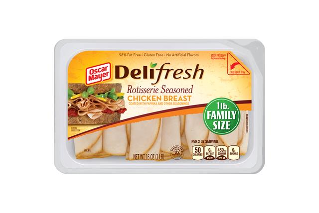 Oscar Mayer Deli Fresh Rotisserie Chicken 16Oz