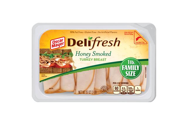 Oscar Mayer Deli Fresh Honey Smoked Turkey 16Oz
