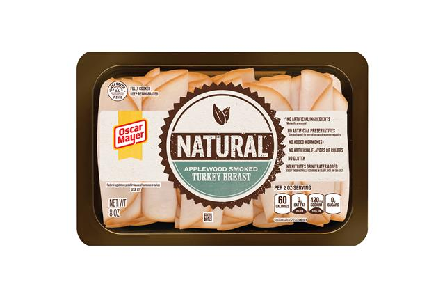 Oscar Mayer Natural Applewood Smoked Turkey Breast 8Oz