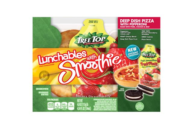 Oscar Mayer Lunchables Deep Dish Pizza With Pepperoni Lunch Combination 4.0 Oz. Tray With Chiquita(R