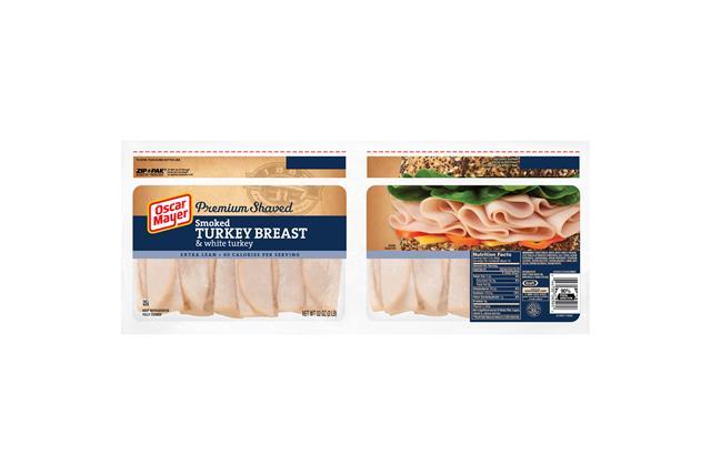 Oscar Mayer Smoked Turkey Breast And White Turkey 32Oz