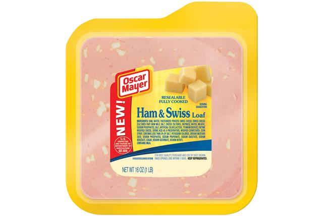 Oscar Mayer Ham & Swiss Cheese Loaf 16Oz Pack