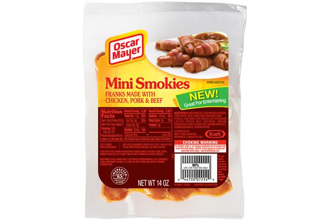 OSCAR MAYER Smokies 14oz Pack