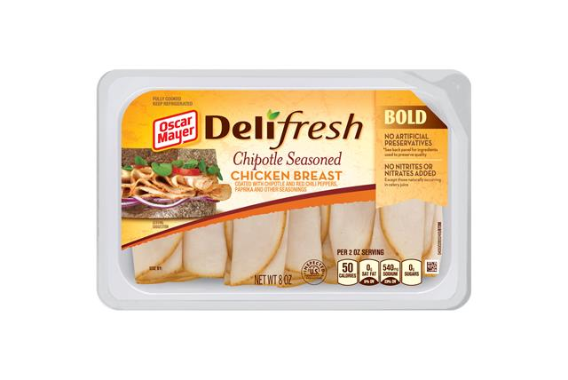 Oscar Mayer Deli Fresh Bold Chipotle Seasoned Chicken Breast 8Oz