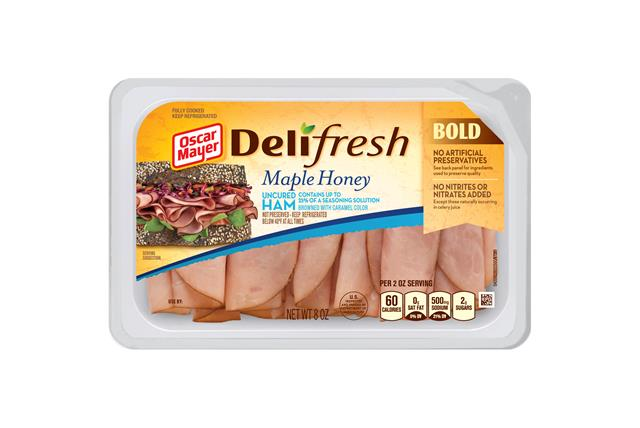Oscar Mayer Deli Fresh Maple Ho 1686 on oscar mayer deli fresh honey ham