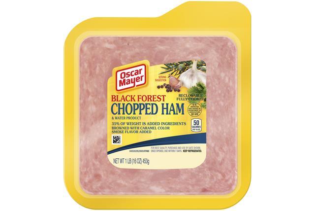 Oscar Mayer Black Forest Chopped Ham 16Oz Pack