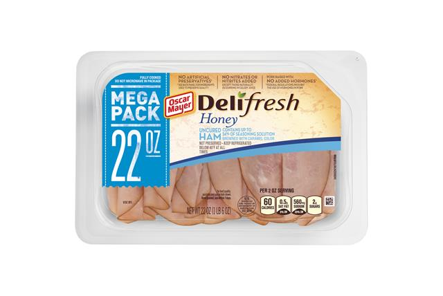 Oscar Mayer Deli Fresh Honey Ham 22Oz