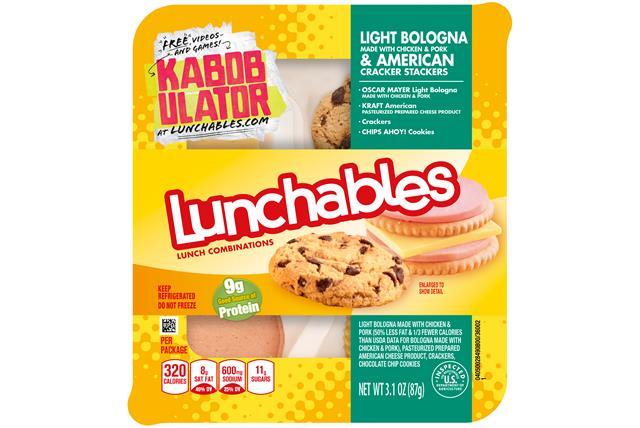 Lunchables Cracker Stacker Bolog/Amer/Chps Ahy 3.1 Oz Tray