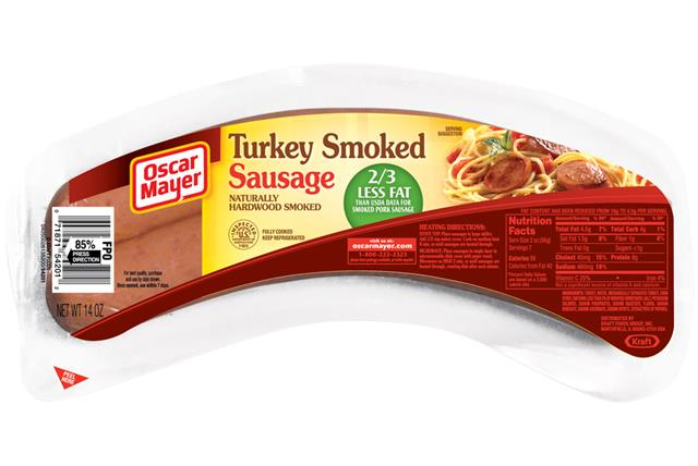 Oscar Mayer Smoked Turkey Sausage 14Oz Pack