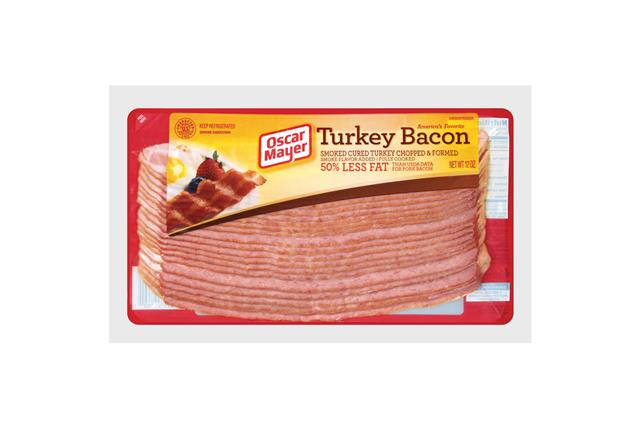 Oscar Mayer Turkey Bacon 12oz P 1581 on oscar mayer selects nutrition
