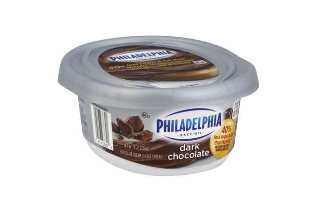Philadelphia Dark Chocolate Cream Cheese 8 Oz Tub