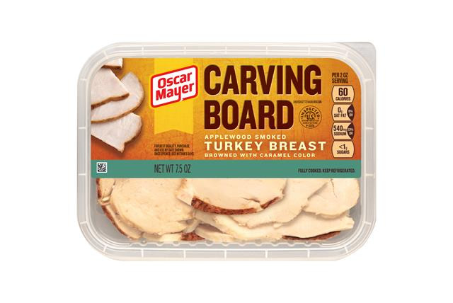Carving Board Applewood Smoked Turkey Breast 7.5Oz