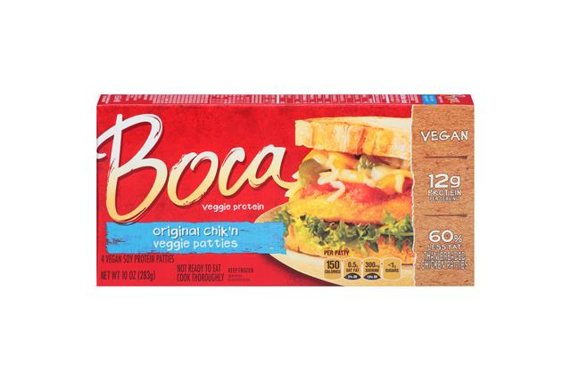 Boca Chik'n Vegan Patties 4 Ct Box