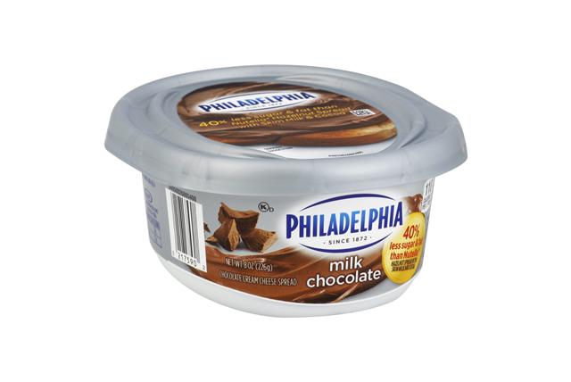 Philadelphia Milk Chocolate Cream Cheese  8 Oz Tub