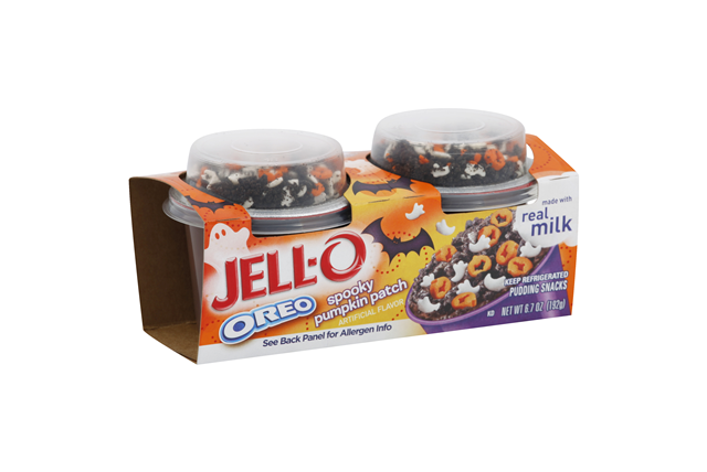 JELL-O Pudding Snacks OREO Spooky Pumpkin Patch