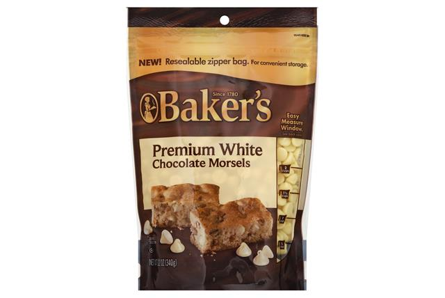 Baker's Premium White Chocolate Chip Morsels 12 Oz. Bag