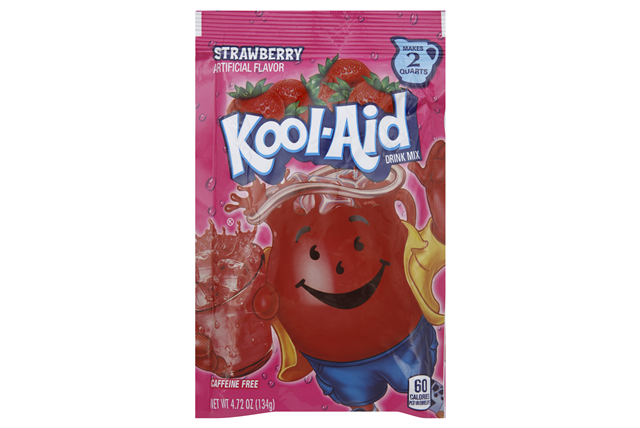 Kool-Aid Strawberry Drink Mix 4.72 oz. Pouch