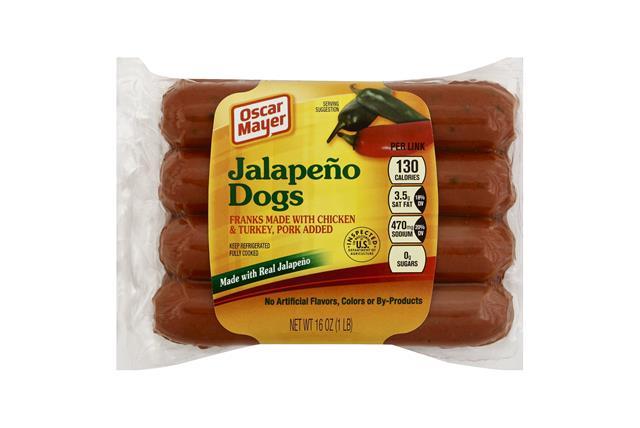 OSCAR MAYER Jalapeno Dogs 8 ct Pack