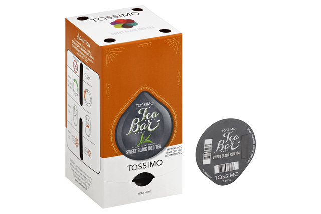Tassimo Tea Bar Sweet Black Iced Tea T Discs 16 ct Bag