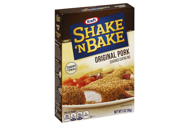 Kraft Shake 'n Bake Original Pork Seasoned Coating Mix 5 oz. Box
