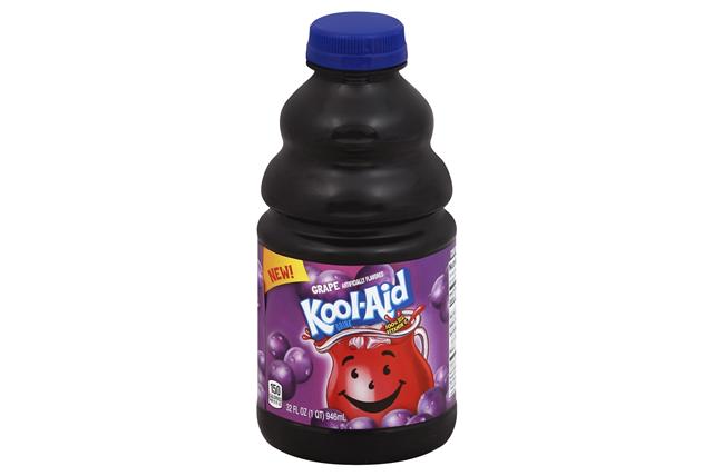 Kool-Aid Grape Drink 32 fl. oz Bottle