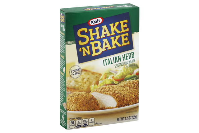 SHAKE 'N BAKE 4.75 OZ COATING MIX  ITALIAN 1 BOX/CARTON EACH