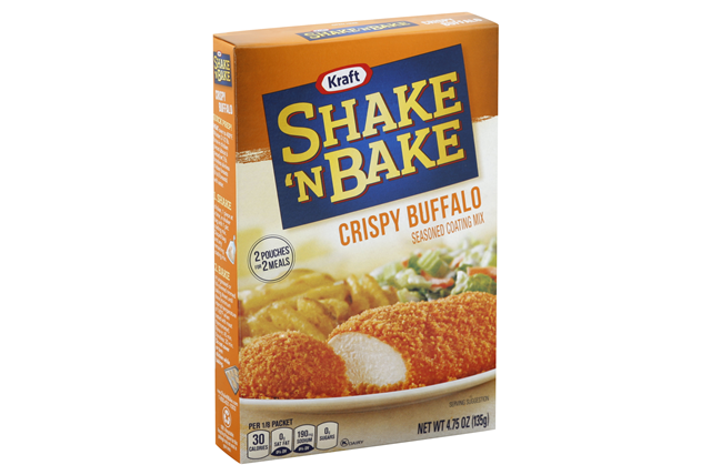 Kraft Shake 'n Bake Crispy Buffalo Seasoned Coating Mix 4.75 oz. Box