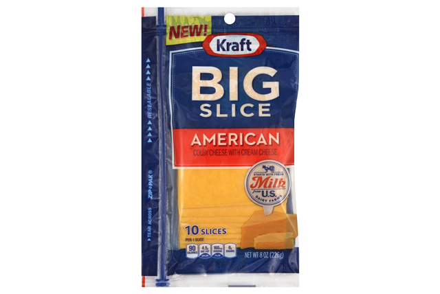 Kraft Big Slice American Cheese Slices - 10Ct