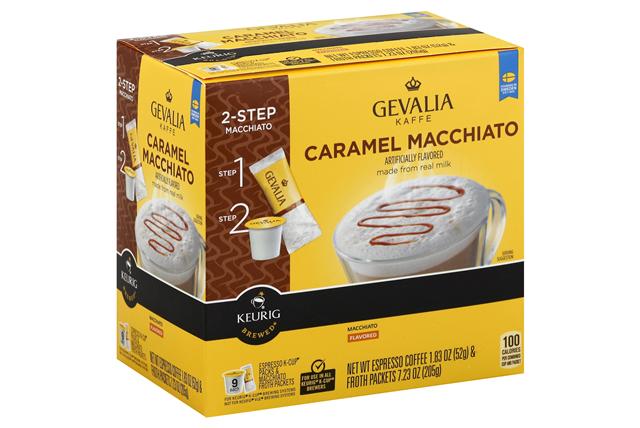 Gevalia Caramel Macchiato 1.83 oz. 9CT Box