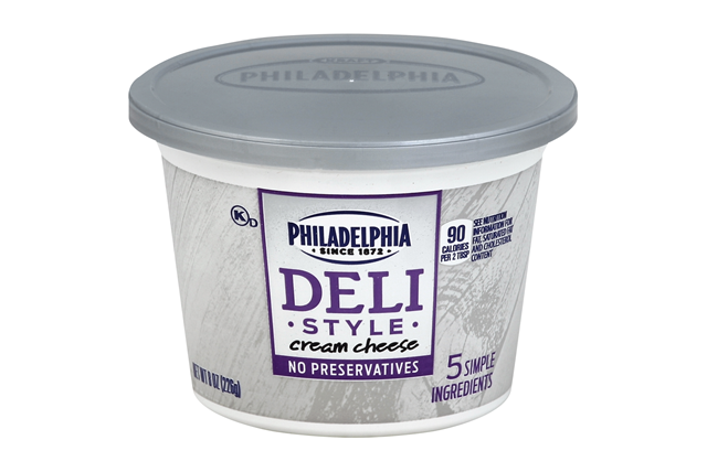 Philadelphia Deli Style Cream Cheese 8 Oz. Tub