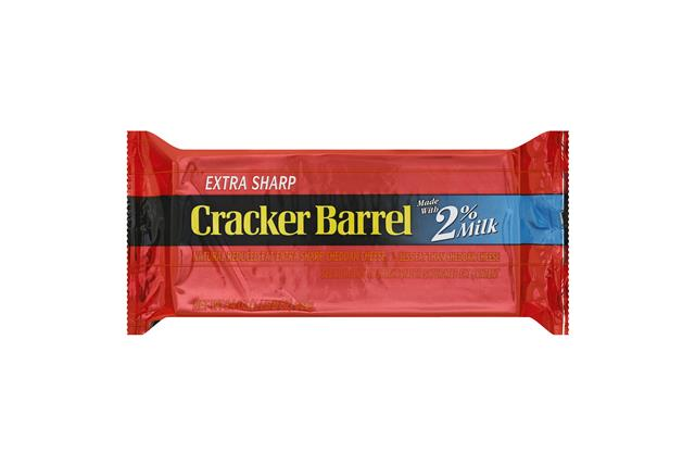 Cracker Barrel Natural 2% Milk Cheese