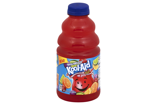 Kool-Aid Tropical Punch Drink 32 fl. oz Bottle