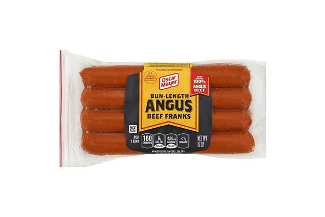 Oscar Mayer Premium Bun-Length Beef Franks 8 Ct Pack