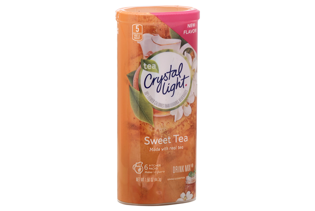 CRYSTAL LIGHT MULTISERVE Sweet Tea 1.56 oz. Packet