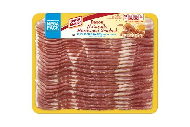 OSCAR MAYER Naturally Hardwood Smoked Bacon 22oz Pack